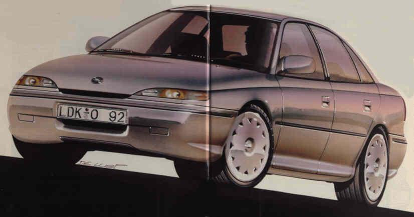 ���� Opel Omega V8 - ���� ���� �������� �����