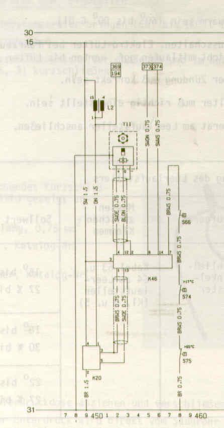 Prüfanleitung Zündanlage mit elektronischer Zündkennliniensteuerung